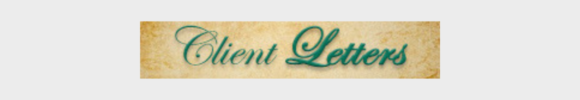 Client Letters archive banner